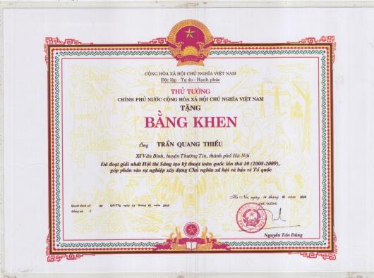 bang-khen-cua-thu-tuong-chinh-phu